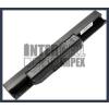 X53 4400 mAh 6 cella fekete notebook/laptop akku/akkumulátor utángyártott