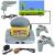 X-Game 8bit videójáték 16 db játékkal
