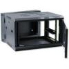 X-Tech - 6U 600x600 mély fali rack szekrény, sötétszürke