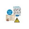 Xerox Etikett, lézernyomtatókhoz, A4, mûanyag, kültéri, XEROX Nevertear, fehér, 50 etikett/csomag