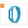 Xiaomi Mi Band 2 aktivitásmérőhöz eredeti szilikon csuklópánt - kék