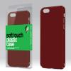 xPRO Plasztik tok Soft-touch felülettel piros Samsung S6 Edge+ (G928F) készülékhez
