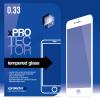 xPRO védőüveg, kijelzővédő üveg, üvegfólia, edzett üveglap – 0.33mm Silicone 3D White Apple Iphone 6 / 6S készülékhez