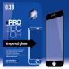 xPRO védőüveg, kijelzővédő üveg, üvegfólia, edzett üveglap – full size Black Sony Xperia X készülékhez