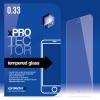 xPRO védőüveg, kijelzővédő üveg, üvegfólia, edzett üveglap – full size Gold Sony Xperia X készülékhez
