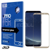 xprotector.jp Samsung Galaxy S8+ XPROTECTOR FULL 3D kijelzővédő üvegfólia TEMPERED GLASS (1 db) - ARANY
