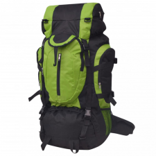 XXL 75 L fekete és zöld túra hátizsák hátizsák
