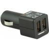 YENKEE Autós mobil töltő, 2 x USB (YAC 2001)