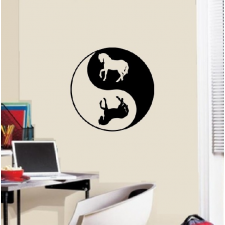 Yin Yang Lovas tapéta, díszléc és más dekoráció
