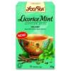 Yogi bio Édesgyökér tea mentával egyiptomi fűszerezésű  - 15 filter/doboz