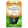 Yogi bio zöld egyensúly tea 17db