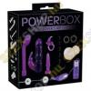 YOU2TOYS PowerBox - 10 részes nyuszis vibrátoros készlet - lila