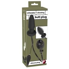 You2Toys - pumpálható anál tágító vibrátor (fekete) vibrátorok