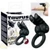 YOU2TOYS Taurus duplanyelves péniszgyűrű - fekete