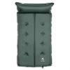 Yukatana Goodbreak 7, 7 cm, zöld, dupla felfújható habszivacs, önfelfújó, fejrész