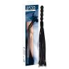 Zado ZADO - bőr korbács, hullámos nyéllel (fekete)