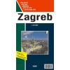 Zagreb térkép - FO 9779