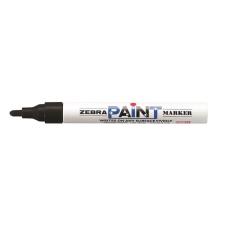 "Zebra Lakkmarker, 3 mm, ZEBRA ""Paint marker"", fekete filctoll, marker"