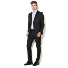 Zee Lane Collection , Slim fit szmoking, Fekete, 56 (ZLC18S-3012-BLACK-56)