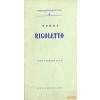 Zeneműkiadó Verdi - Rigoletto