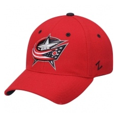 Zephyr Columbus Blue Jackets baseball sapka Zephyr Breakaway Flex Red - M/L