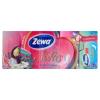 ZEWA Softis Tropical Spirit illatosított papír zsebkendő 4 rétegű 10 x 9 db