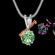 Zöld csillogás nyaklánc