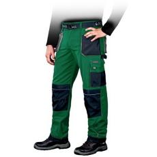 Zöld Derekasnadrág FORMEN, 65% poliészter és 35% pamut  (Dizájnos munkaruha)