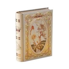 ". Zöld tea, filteres, 10 g, fém könyv dobozban, ""BASILUR Miniature Tea Book VolIII"" tea"