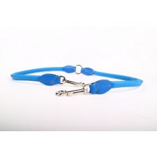 Zooleszcz Bőr póráz ketté osztó - Kék nyakörv, póráz, hám kutyáknak