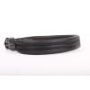 Zooleszcz Soft Plus (Nikkel) bőr nyakörv - Fekete