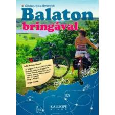 Zsiga Henrik Balaton bringával térkép