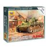 Zvezda German flamethrower tank Pz.Kfw III tank makett Zvezda 6162