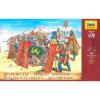 Zvezda Wargames (AoB) figurky 8006 - Persian Infantry (re-release) (1:72)