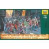 Zvezda Wargames (AoB) figurky 8053 - French Infantry of the 100 Years War (1:72)