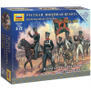 Zvezda Wargames figurky 6815 - Russian Infantry Command Group (1:72)